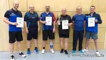 Tischtennis-Meister des TV Helmstadt - Main-Post