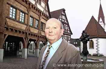 Plochingen: Zum Tod von Manfred Reiner - Kreis - esslinger-zeitung.de