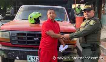 Policía recupera vehículo hurtado en Maicao - El Informador - Santa Marta