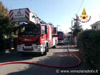 Incendio in una villetta a Favaro Veneto - Televenezia