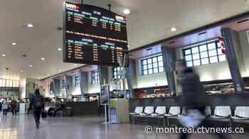 'Minor' train derailment leads to complete cancellation of Mascouche line, multiple delays - CTV News