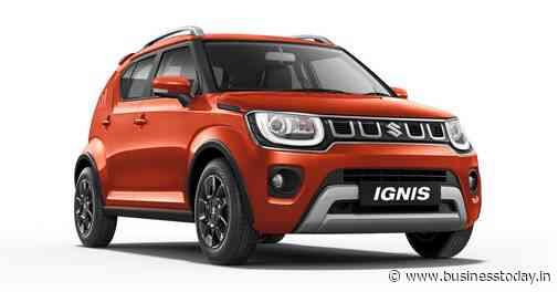Auto Expo 2020: Maruti Suzuki Ignis facelift unveiled; check price, features - Business Today