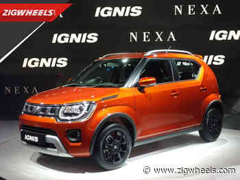 Maruti Ignis (BS6) Facelift 2020 India First Look Review Auto Expo 2020 - ZigWheels.com