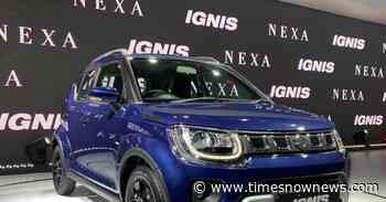 Maruti Suzuki Ignis Pictures: Facelift version unveiled at Auto Expo 2020 - Times Now