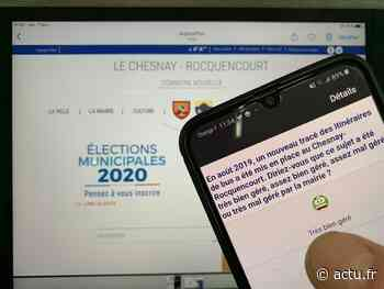 Yvelines. Municipales au Chesnay-Rocquencourt : un bien étrange sondage... - actu.fr