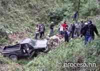Dos muertos y tres heridos en accidente en Lepaera - Proceso Digital
