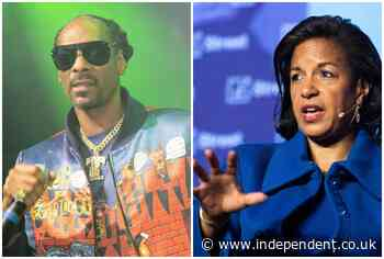 Susan Rice tells Snoop Dogg to 'back the f*** off' after he lashed out at Gayle King for Kobe Bryant rape questions