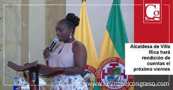 Alcaldesa de Villa Rica hará rendición de cuentas el próximo viernes - Congreso de la República