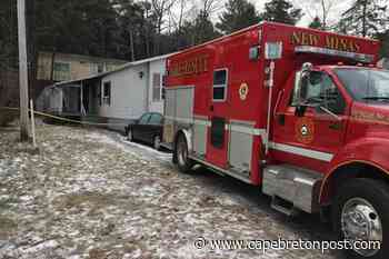 Dog dies in fire that caused heavy damage to New Minas mini-home - Cape Breton Post