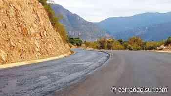 Carretera Padilla-El Salto está a punto de concluir - Correo del Sur