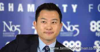Birmingham City chief executive Xuandong Ren breaks silence with eight-word message - Birmingham Live