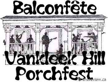 Balconfête Vankleek Hill Porchfest 2020 - The Review Newspaper