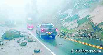 Huaicos interrumpen la Carretera Central cerca a Morococha - Diario Correo