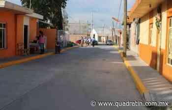 Invierten 5.46 mdp para pavimentación en Vista Hermosa 15:03 Pavimentación de vialidades urbanas. - Quadratín Michoacán