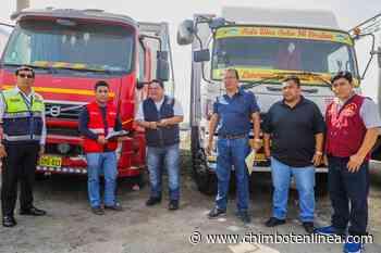 Alcalde Briceño recibió dos camiones frigoríficos y un vehículo de parte del Pronabi - Diario Digital Chimbote en Línea