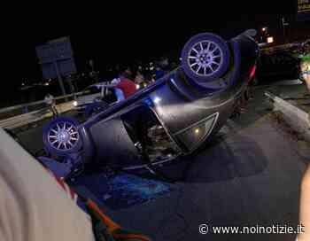 San Giorgio Ionico: incidente, auto si ribalta - Noi Notizie. - Noi Notizie