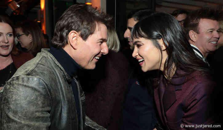 The Mummy's Tom Cruise & Sofia Boutella Reunite at Star-Studded CAA Pre-Oscar Party