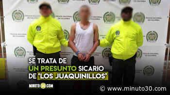 EN VIDEO: Cogieron en Puerto Berrío a uno de los sujetos más buscados en el Valle de Aburrá - Minuto30.com
