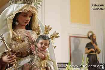 Galería. Besamanos a la Virgen de Belén de San Jerónimo. Fernando Aranda Arqués - Arte Sacro
