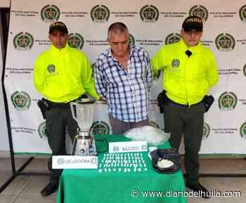 """Hombre conocido como """"el renco"""" fue capturado en campoalegre - Diario del Huila"""