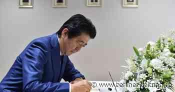 Namensreform in Japan : Shinzo Abe heißt jetzt Abe Shinzo- Nationalisten freut's - Berliner Zeitung