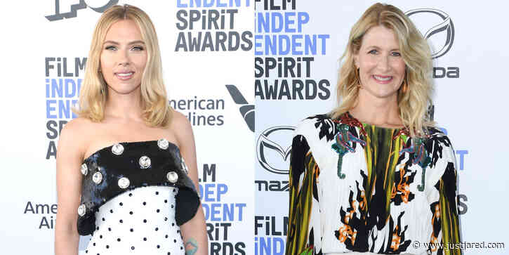 Scarlett Johansson & Laura Dern Support 'Marriage Story' at Spirit Awards 2020