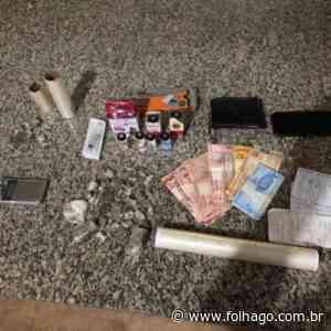 Dupla de irmãos é presa em Porangatu por tráfico de drogas - FolhaGO