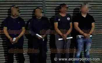 Detienen a 4 policías municipales de Paso del Macho por desaparición forzada - alcalorpolitico