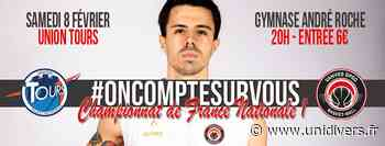 Match basket Vanves GPSO Basket contre Tours Gymnase André Roche 8 février 2020 - Unidivers