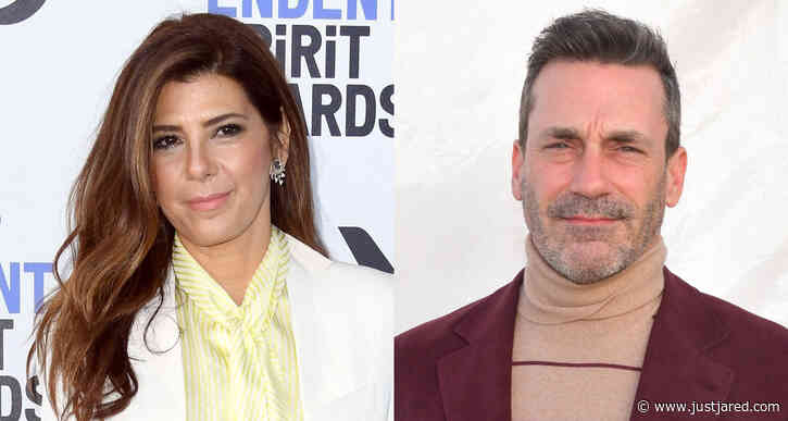 Marisa Tomei & Jon Hamm Suit Up for Spirit Awards 2020