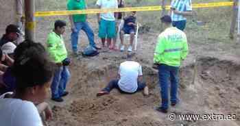 Familia de Pedro Carbo halla osamentas durante excavación - Portal Extra