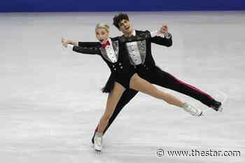 Canadian ice dancers Gilles and Poirier win silver at Four Continents