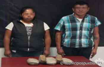 Detiene SSP a narcomenudista en Puebla y Tlaxcalancingo - Municipios Puebla