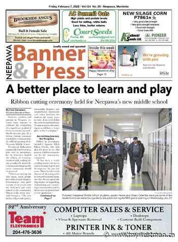 Friday, February 7, 2020 Neepawa Banner & Press - myWestman.ca