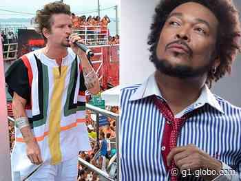 Saulo recebe Jau como convidado no projeto 'Som e Sol', em Salvador - G1