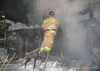 The hangar caught fire in the village lobanovo under Istra - International Law Lawyer News