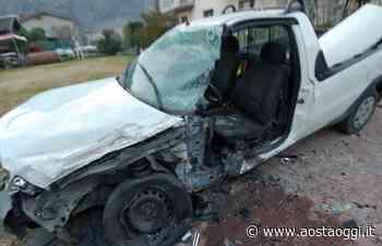 Incidente stradale a Pont-Saint-Martin, un ferito grave - Aosta Oggi