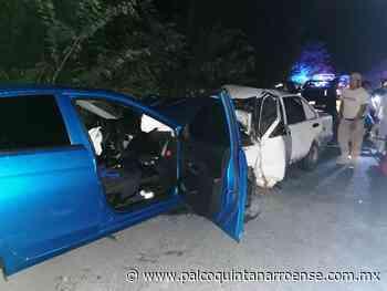 Carreterazo entre Chemax y Tulum deja tres muertos - Palco Quintanarroense