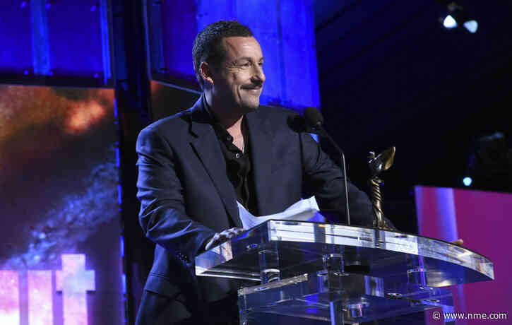Listen to Adam Sandler take aim at the Oscars in this incredible speech