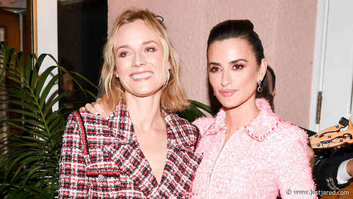 '355' Stars Penelope Cruz & Diane Kruger Catch Up at Chanel's Pre-Oscar Dinner!