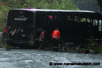 Several factors led to deadly bus crash on Bamfield Road: RCMP report - Nanaimo News Bulletin