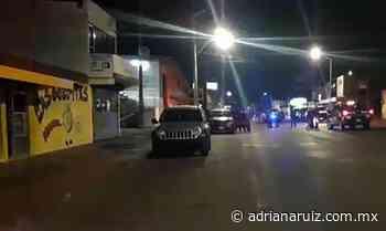 #Cuauhtemoc | Reportan balaceras en distintos puntos de la ciudad; un herido - Adriana Ruiz