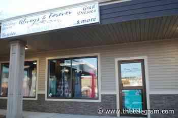 Formal shop closure leaves worried grads and brides in Clarenville, NL - The Telegram