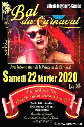 BAL DU CARNAVAL Moyeuvre-Grande, 22 février 2020 - Unidivers