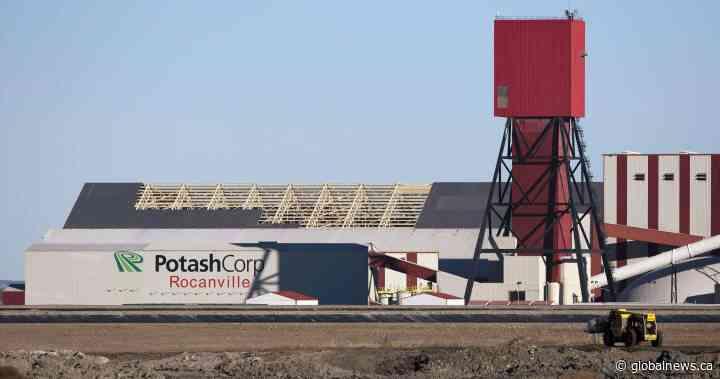 Nutrien shutting down Rocanville, Sask. potash mine due to CN Rail strike - Global News