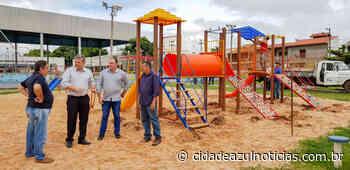 Prefeitura instala Espaço Família no CEU Mãe Preta - Cidade Azul Notícias