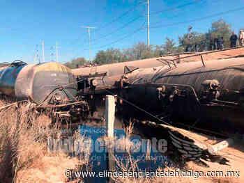 Reportan descarrilamiento de tren en Atitalaquia - Independiente de Hidalgo