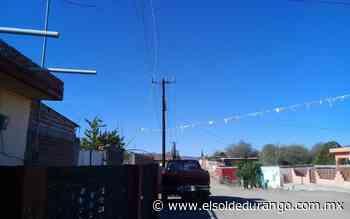 Se quedan dos días sin luz habitantes de Santa Barbara - El Sol de Durango