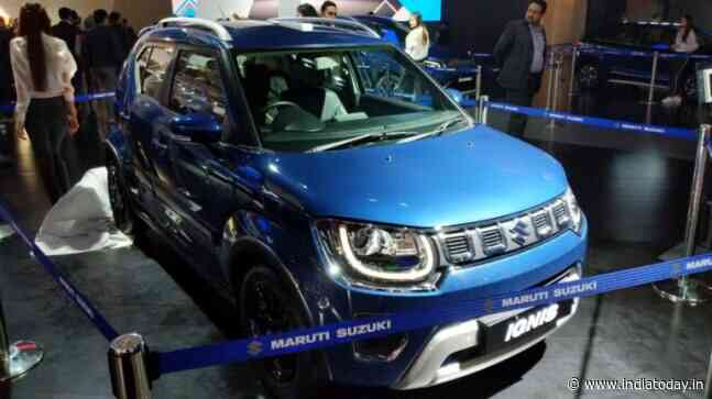 Auto Expo 2020: New Maruti Suzuki Ignis unveiled, pre-launch bookings open - India Today