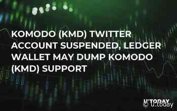 Komodo (KMD) Twitter Account Suspended, Ledger Wallet May Dump Komodo (KMD) Support - U.Today